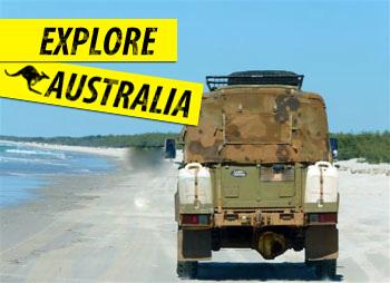 4x4 hire australia