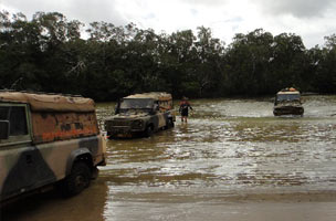 Jardine River Crossing